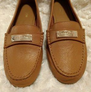 039f42ef42f Coach Shoes - 🌻NWOT Coach Fredrica Tan Loafer (size 7)🌻